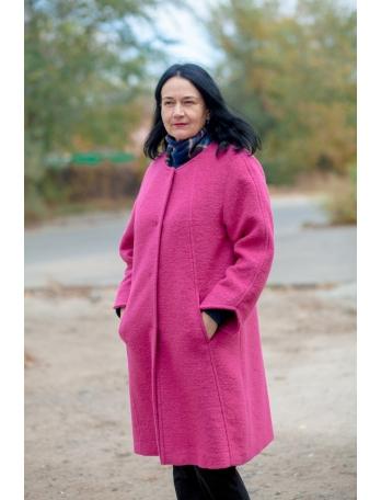 Пальто натуральная шерсть Iris