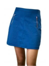 Юбка синяя H&M