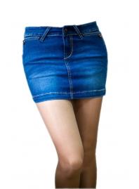 Юбка джинсовая Eight Sin