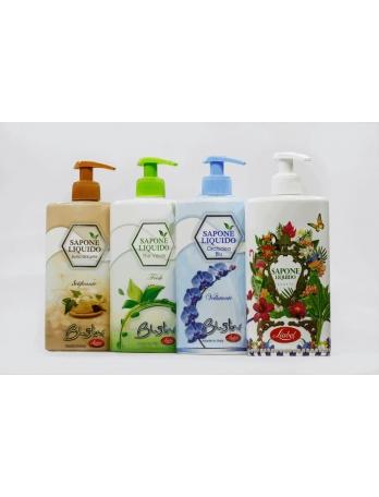 Жидкое мыло для лица и тела saronnoline Италия 500 мл