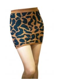 Юбка леопард sparkle & fade