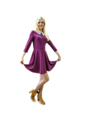Платье бордо Dorothy Perkins